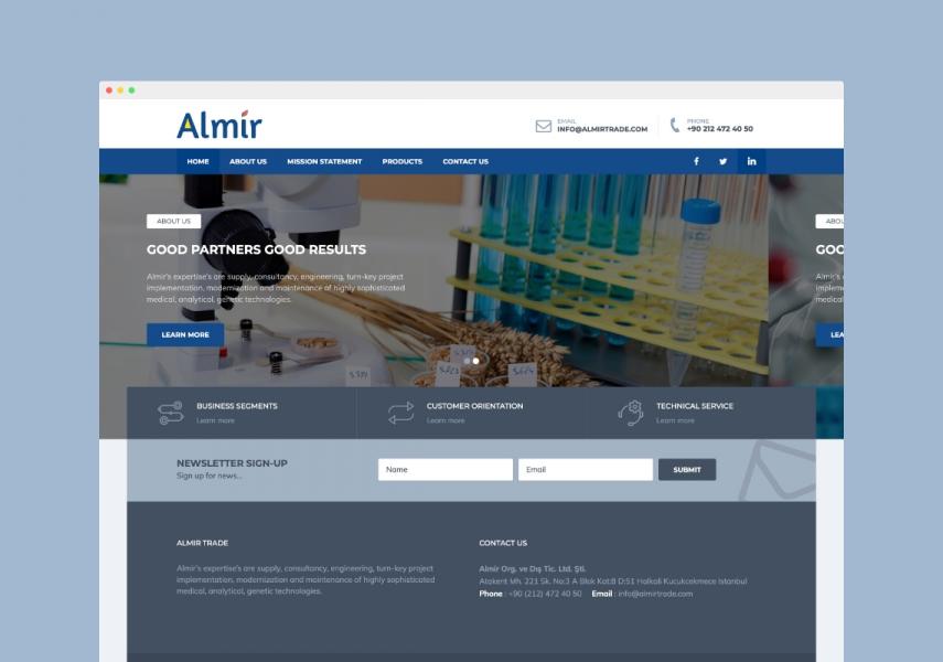 Almir Trade