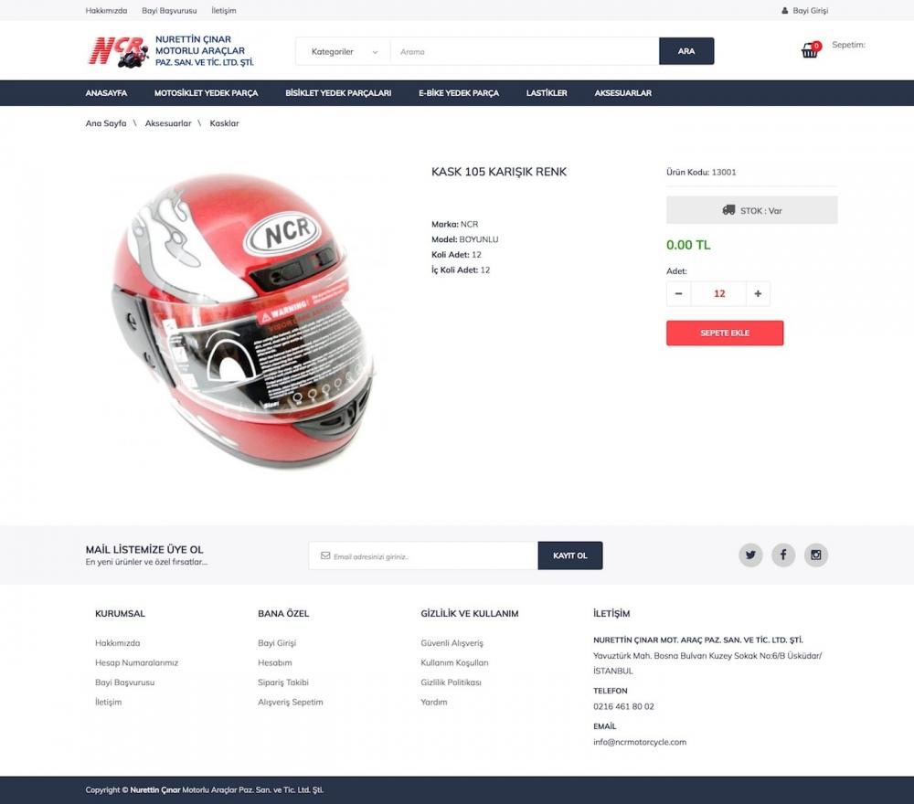 NCR Motorcycle Web