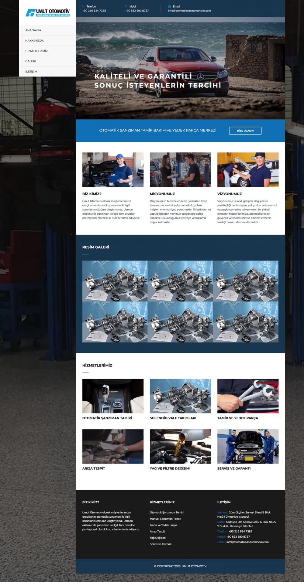 Otomatik Şanzımancım Web