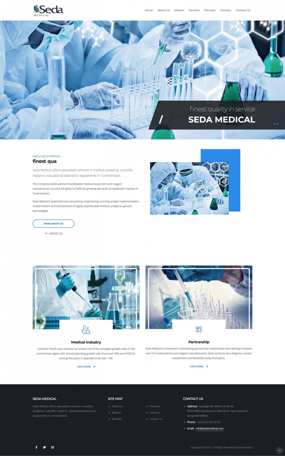 Seda Medical Web
